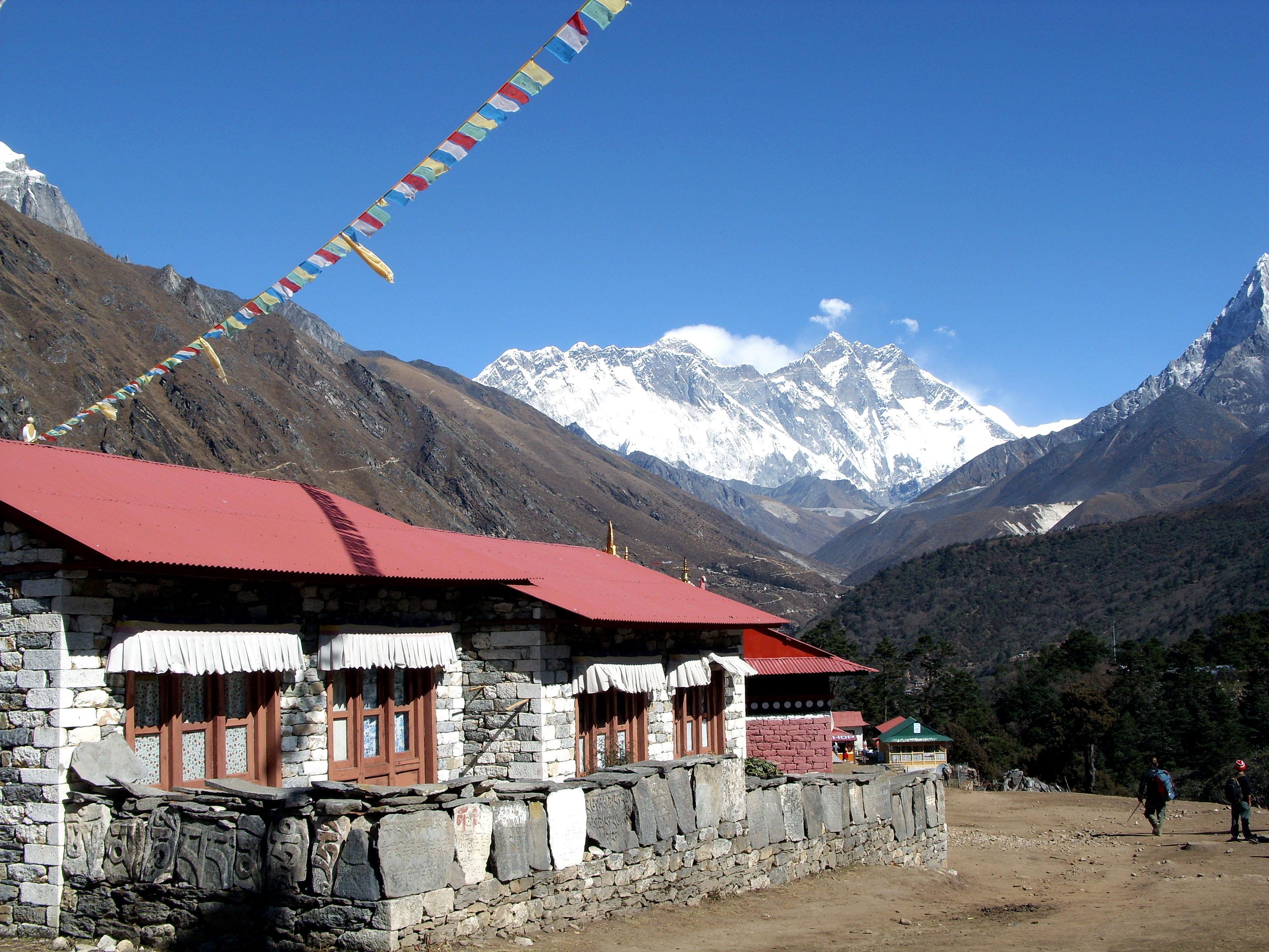 Nepal Übernachtung Essen