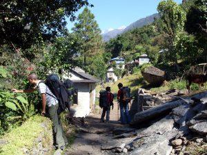 Trekking Gruppe